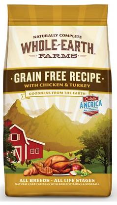 Whole Earth Farms Grain-Free Chicken & Turkey