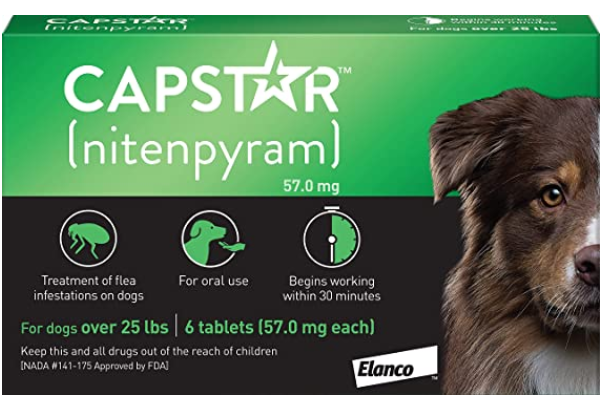 Capstar Fast-Acting Oral Flea Treatment