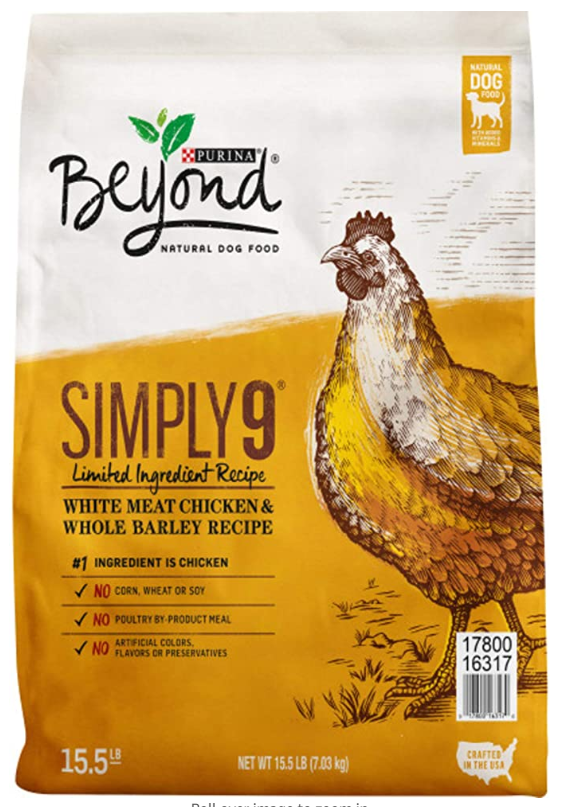 Purina Beyond White Chicken Meat and Whole Barley