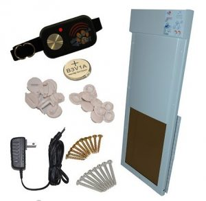 High Tech Pet Products PX-2 Power Pet Fully Automatic Pet Door full installation set