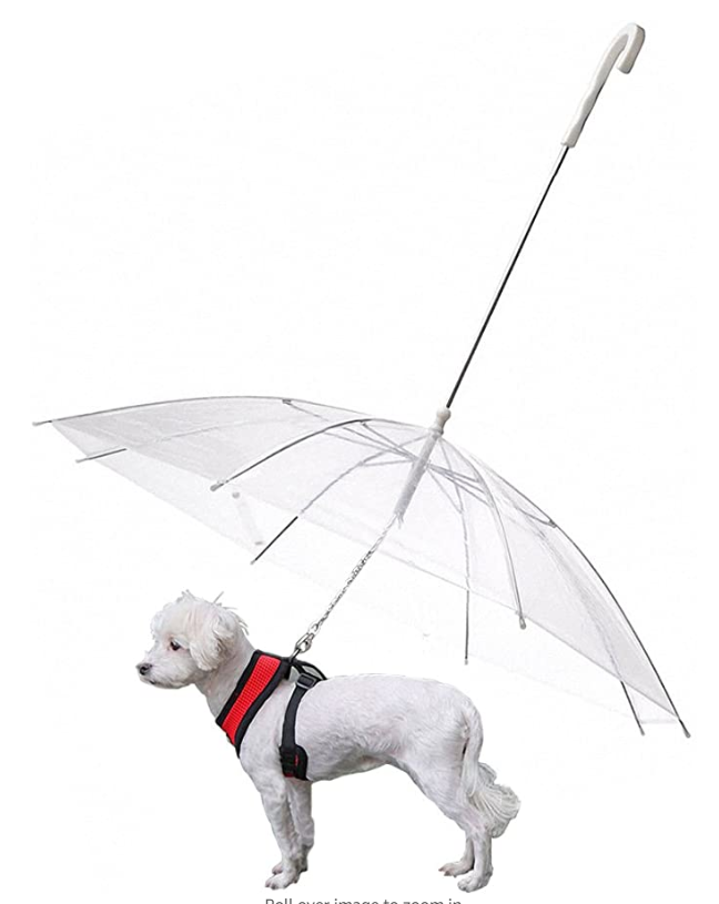 OMEM Doggie Umbrella with Leash
