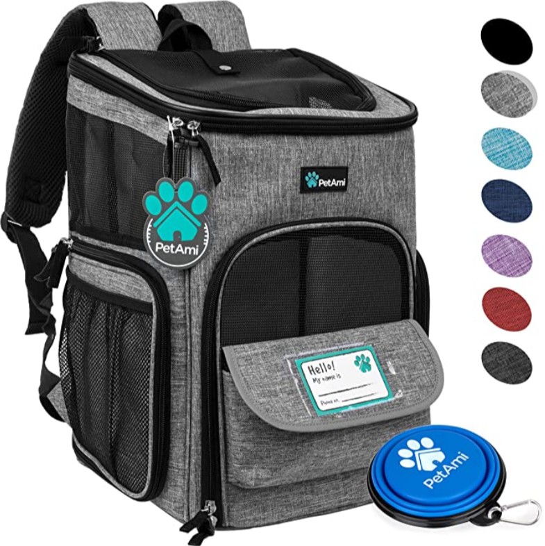 PetAmi Pet Carrier Backpack