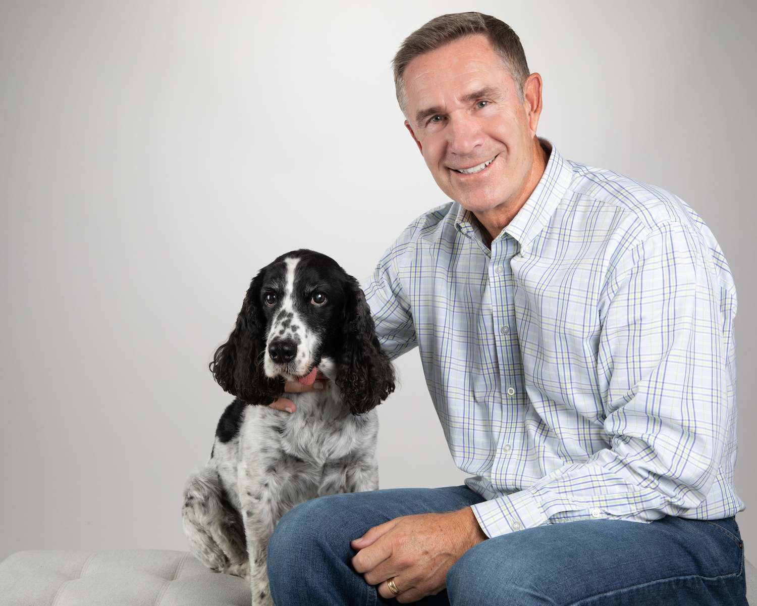 Rob Jackson, co-founder and CEO of Healthy Paws and Barney