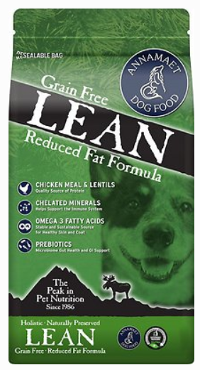 Annamaet Grain-Free Lean Low Fat Formula
