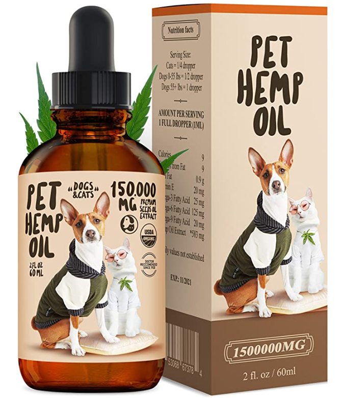 Dogs&Cats Hemp Oil