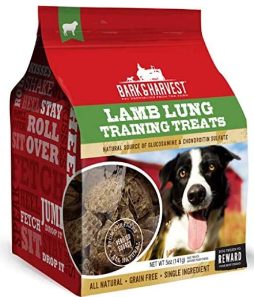 Superior Farms Pet Provisions Lamb Lung Dog Treats