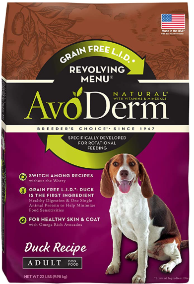 AvoDerm Natural Duck Recipe