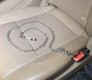 Mogoko Stainless Steel No chew Dog Car Seat Belt