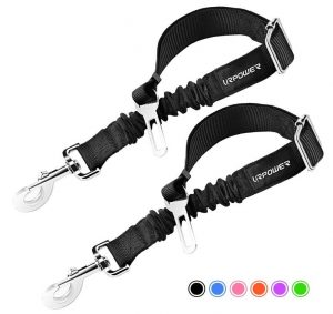 URPOWER Upgraded Dog Seat Belt 2 Pack