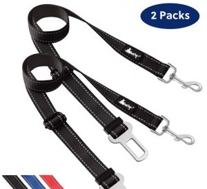 WePet Adjustable Reflective Dogs Car Seat Belt