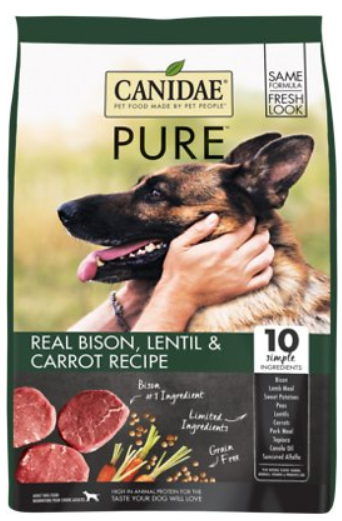 CANIDAE Grain-Free PURE Real Bison