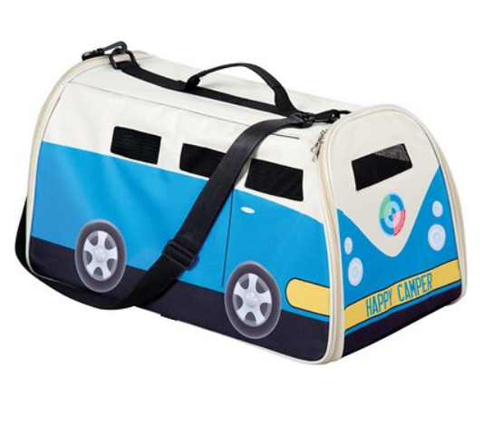 Etna Happy Camper Airline-Approved Dog & Cat Carrier Bag
