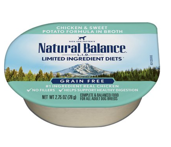 Natural Balance L.I.D. Limited Ingredient Diets Chicken & Sweet Potato