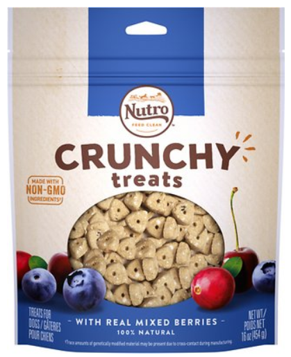Nutro Crunchy with Real Mixed Berries Dog Treats