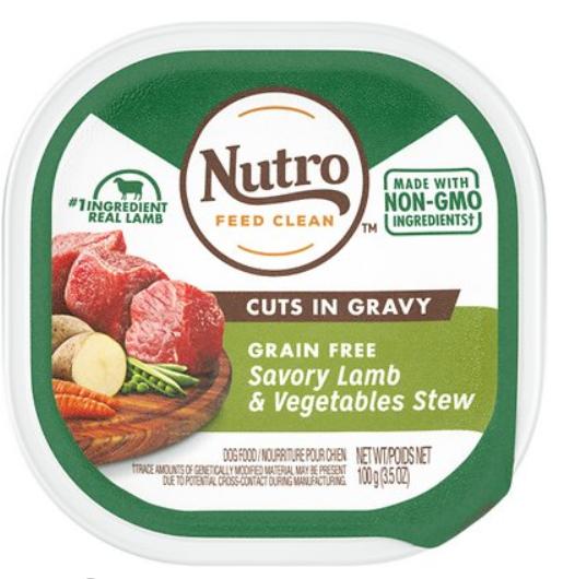 Nutro Grain-Free Savory Lamb & Vegetables