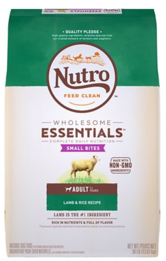 Ltd Ingredient Small Bites Lamb & Rice