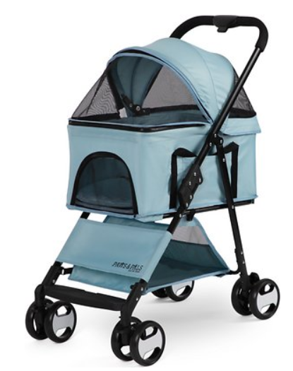 Paws & Pals 2-in-1 Detachable Dog & Cat Stroller