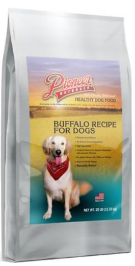 Pioneer Naturals Buffalo Dog Food