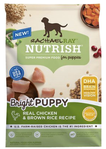 Rachael Ray Nutrish Bright Puppy Natural