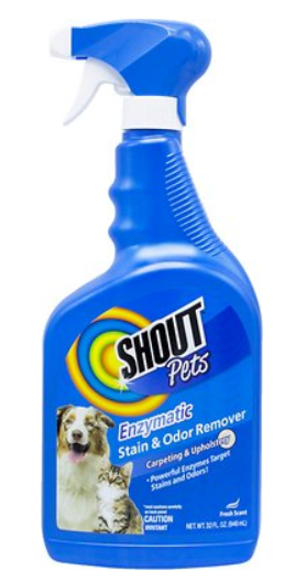 Shout Pets Enzymatic Stain