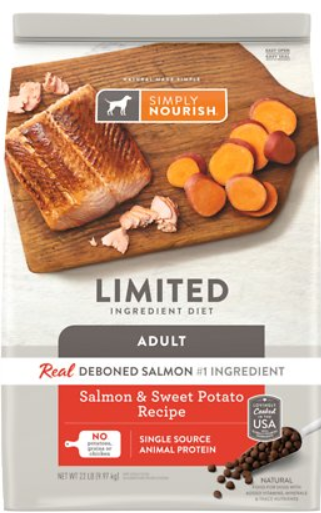 Simply Nourish Limited Ingredient Diet Salmon & Sweet Potato
