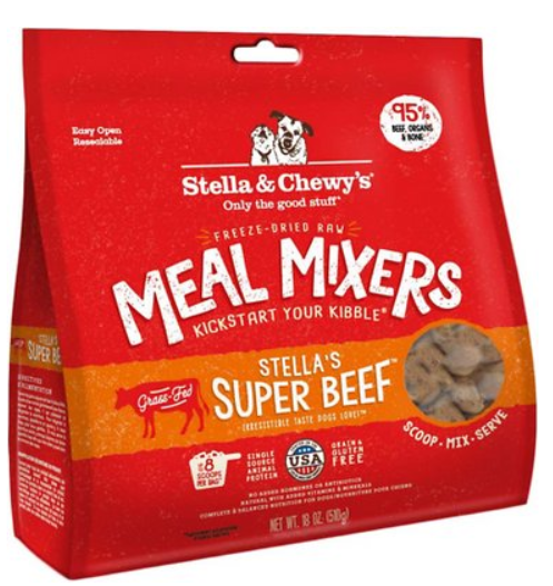 Stella & Chewy's Stella's Super Beef Meal Mixers