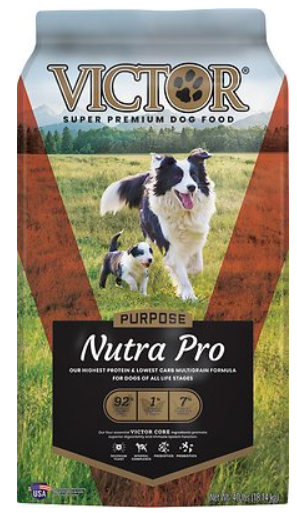 VICTOR Select Nutra Pro Active Dog