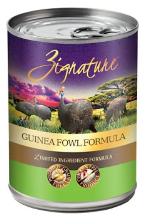Zignature Guinea Fowl Limited Ingredient