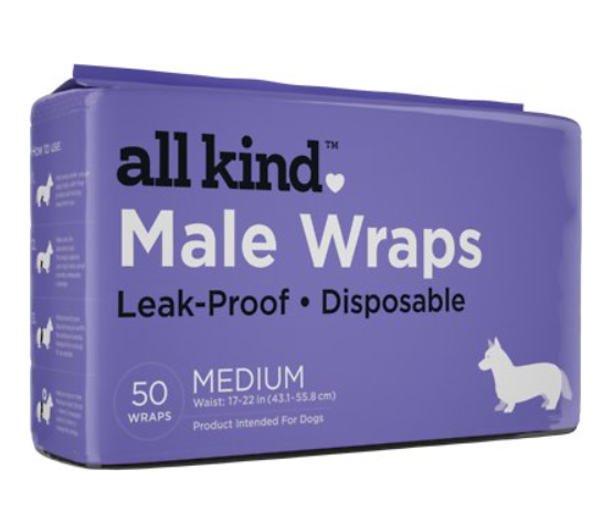 All Kind Disposable Male Dog Wraps
