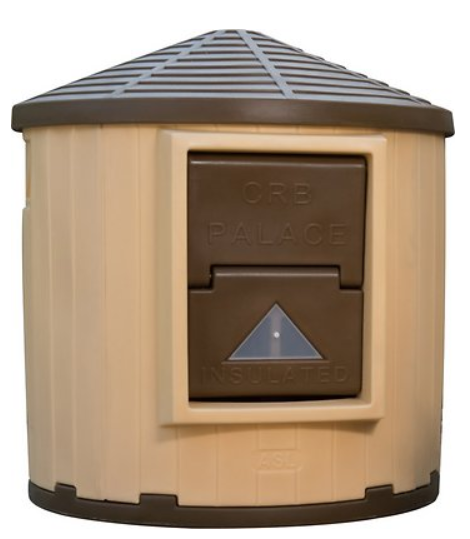 CRB Palace Dog House, Brown