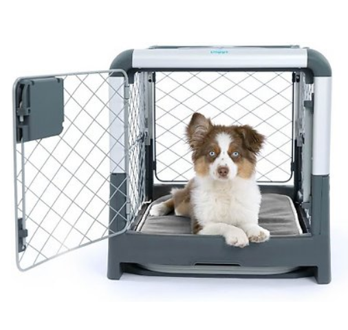 Diggs Revol Double Door Collapsible Wire Dog Crate