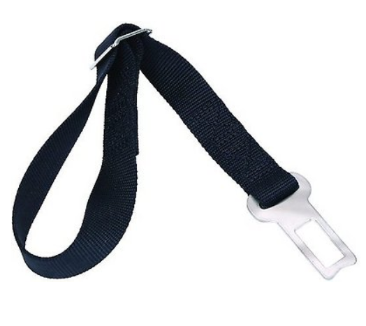 Easy Rider Seat Belt Accessory, Black