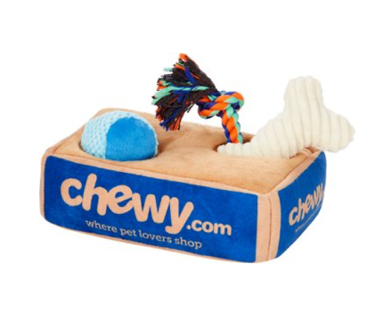 Frisco Hide and Seek Plush Chewy Box
