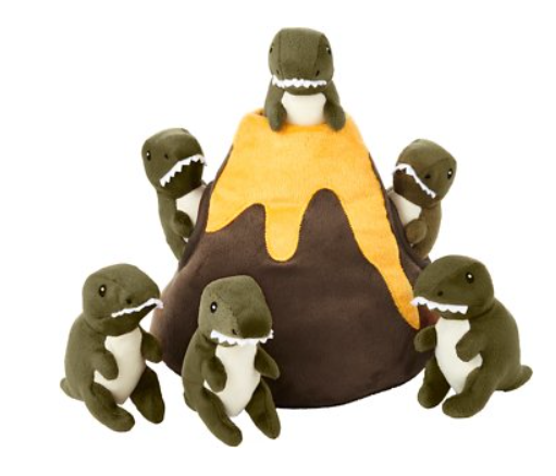 Frisco Hide and Seek Plush Volcano