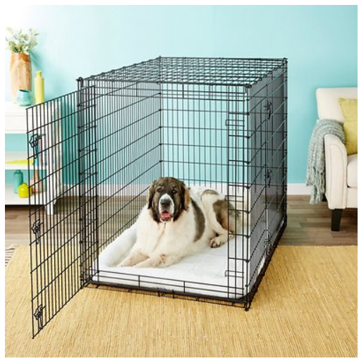 Frisco XX-Large Heavy Duty Double Door Wire Dog Crate