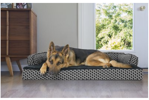 FurHaven Comfy Couch Orthopedic Bolster