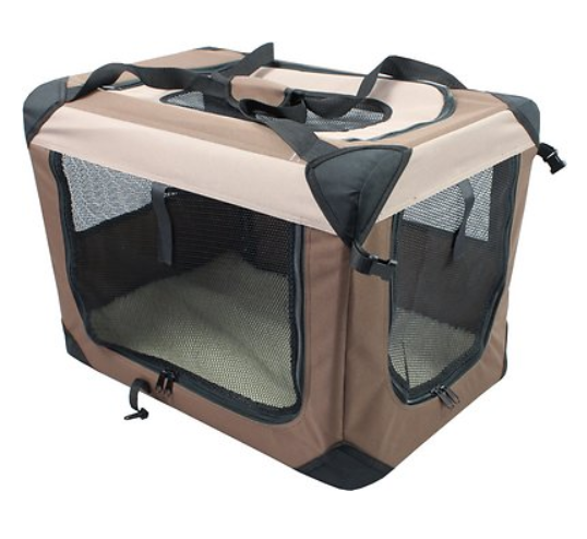 Iconic Pet Multipurpose 3-Door Collapsible Soft-Sided Dog Crate