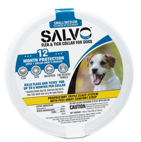 Salvo Flea & Tick Collar for Small Dogs