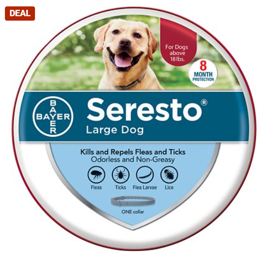 Seresto 8 Month Flea & Tick Prevention