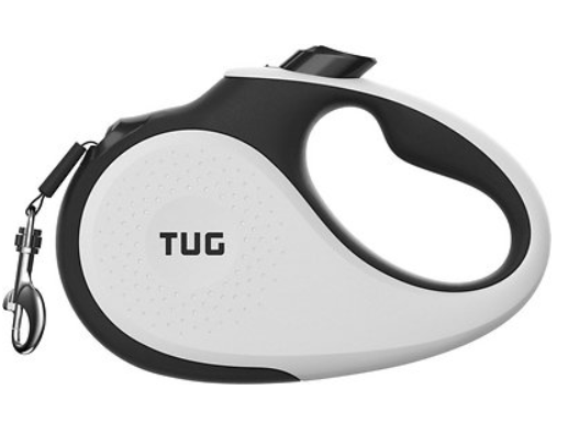 TUG Nylon Tape Retractable Dog Leash