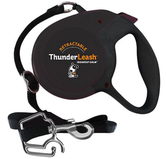 ThunderLeash Nylon Retractable Dog Leash